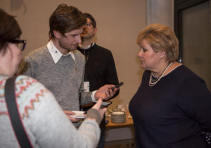 - Vi har diskutert utfordringene fremover, fortalte statsminister Erna Solberg da toppmøtet var over.
